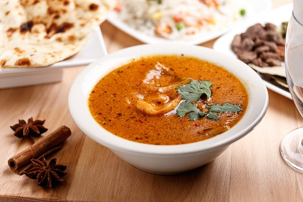 Afghani Shrimp Curry