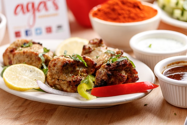 Aga's Chicken Malai Boti