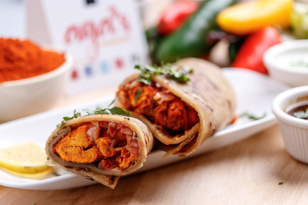 Chicken Bihari Roll