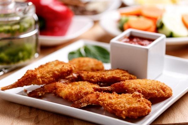 Breaded Fried Shrimp